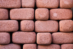 Bricks. Close up of red bricks Royalty Free Stock Photo