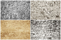 Bricks And Blocks - Textures Stock Photo