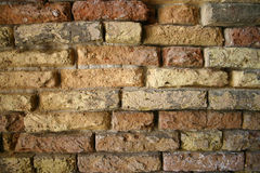 Old brick wall background. Old brick wall in Venice Royalty Free Stock Photography