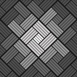 Bricks background pattern black and white Stock Image