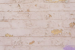 Bricks with breaks Royalty Free Stock Photos
