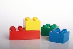 Bricks in the building Stock Photos