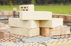 Bricks for building Stock Photo