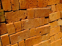 Bricks for building construction Stock Image
