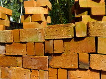 Bricks for building construction Stock Photo