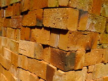 Bricks for building construction Royalty Free Stock Photos