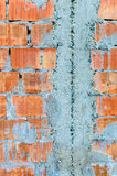 Bricks cement wall Royalty Free Stock Photo