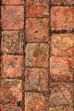 Bricks clay soil pavement traditional Spain Stock Photos