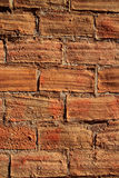 Bricks clay soil pavement traditional Spain Royalty Free Stock Photography