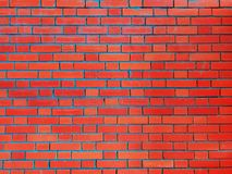 Red bricks and concrete texture for pattern abstract background. Bricks and concrete texture for pattern abstract background royalty free stock photos