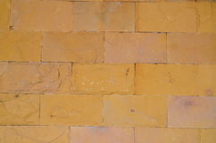 Bricks. Are constructing the wall in the garden Stock Photos