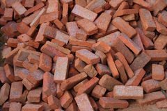 Bricks for construction Stock Images