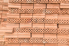Bricks for construction in black and white Stock Photography