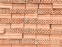 Bricks for construction in black and white Royalty Free Stock Photography