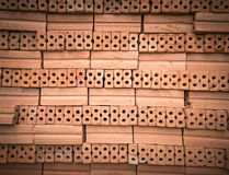 Bricks for construction in black and white Royalty Free Stock Photos