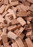 Bricks for construction. The red bricks for construction Royalty Free Stock Images