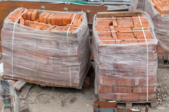 Bricks for construction Royalty Free Stock Photography