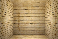 Bricks cube Royalty Free Stock Images