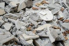 Bricks debris Royalty Free Stock Images