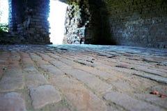 Bricks are everywhere. In the building of bricks royalty free stock photos
