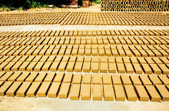 Bricks factory Royalty Free Stock Images