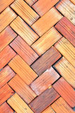 Bricks floor Royalty Free Stock Image