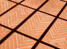 Bricks floor Royalty Free Stock Images