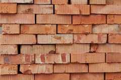 Bricks For Next Building On Warehouse Royalty Free Stock Images