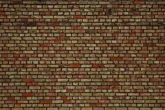 Bricks. Fragment of the brick wall of the building stock photography