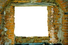 Bricks frame Stock Image