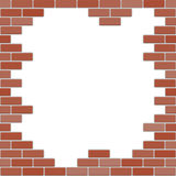 Bricks frame Royalty Free Stock Photography