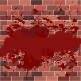 Bricks full of blood Royalty Free Stock Photos