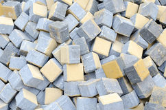 Bricks heap Royalty Free Stock Images