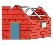 Bricks house Stock Image