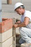 bricks leveling στοκ εικόνες με δικαίωμα ελεύθερης χρήσης