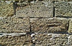 Natural bricks texture stock photography