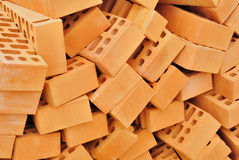 Bricks. Many Bricks in a building site Royalty Free Stock Photography