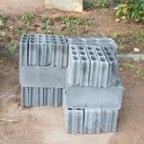 Bricks material Stock Photography