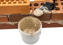 bricks with mortar Stock Image