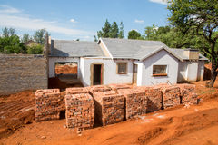 Bricks for New House Stock Image