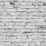 Bricks painted white. stock image