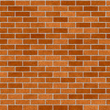 Bricks pattern in shades of orange Royalty Free Stock Images