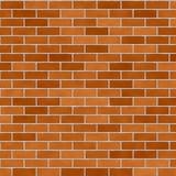 Bricks pattern in shades of orange Royalty Free Stock Images
