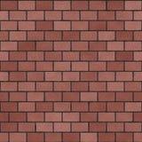 Bricks pattern in shades of orange Royalty Free Stock Photos