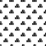 Bricks pattern vector. Bricks pattern seamless in simple style vector illustration Stock Photos