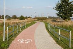 Bricks paved pathway Stock Image