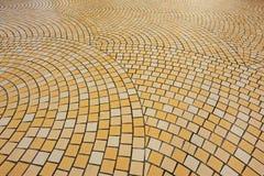 Bricks pavement Stock Image