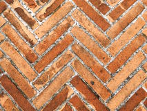 Bricks pavement Stock Photography