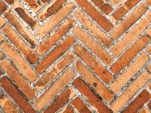 Bricks pavement Stock Photography