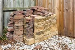 Bricks and Paving Stones Stock Photos